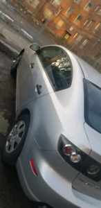 2007 silver Mazda 3 GX selling AS IS