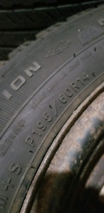 Goodyear nordic tires and rims (195/60R14)
