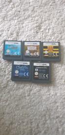 5x DS Games bundle