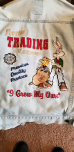 Vintage Looney Tunes Men's Jean Jacket
