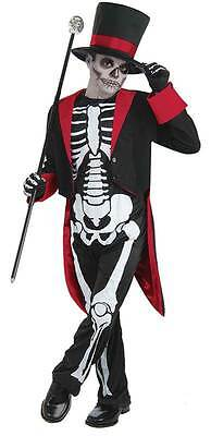 Herr Knochen Jangles, L 146cm, Kinder Kostüm - Knochen Kind Kostüme