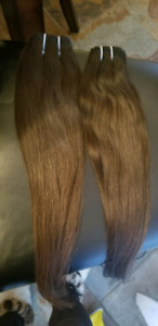 Indian Virgin Human Hair 20inc/ Rallonge Cheveux Indien 20po
