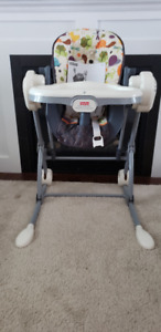 Fisher-Price Mosiac deluxe high chair /swing combination