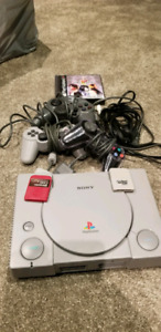 Playstation 1 plus one game