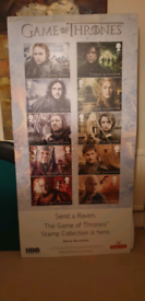 Game of Thrones Stamps Display Stand