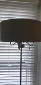 Floor lamp from Next triple light fitting.