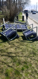 free couch and chairs /scrap metal