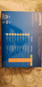 Linksys N600 router brand new unopend