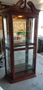 Glass display case/ Curio