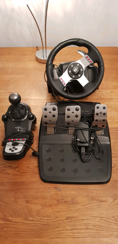 ebae7cc2815 G27 steering wheel shifter and pedals | in Ashford, Kent | Gumtree