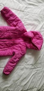 Girls 3t Gap primaloft lightweight jacket