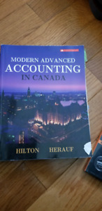 Modern Advanced Accounting in Canada