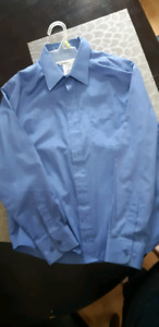 Boys dress shirt blue