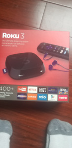 ALMOST NEW! Roku 3 player