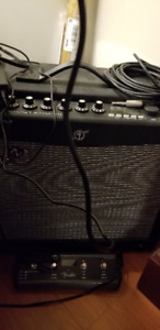 Fender Mustang III 100 watt 1x12 Guitar Amp w/Footswitch