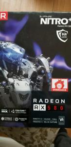 New Sapphire RX 580 8gb
