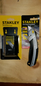 Utility knife and blades