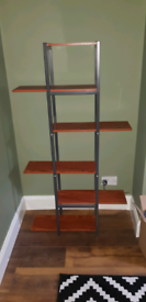 Wooden free standing unit