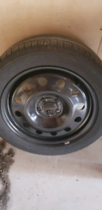 235/50R18 - Spare tire with rim from Ford Escape - Full Size