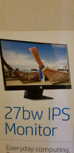 HP Pavilion 27 inches Monitor