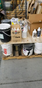 Free cleaners/solvents/adhesives