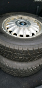 Tyre with the alloy rim
