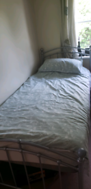 Single Bed with mattress - reduced!