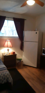 FULLY FURNISHED ROOM TO RENT IN A APARTMENT BUILDING. APRIL 1 .