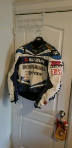 Suzuki Joe Rocket Motorcycle Leather Jacket