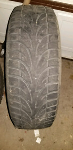 Sailun 215/70r16 ice blazer tires on rims
