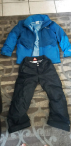 Boys winter jacket and snow pant