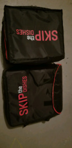 Brand new never used skip bags