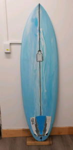 As new Therapy Surfboard - Aussie Made - INCLUDES FCS QUAD FINS.