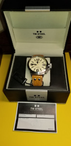 TW Steel Canteen Brown Leather Band