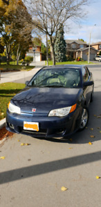 2007 Saturn Ion 3 Uplevel Coupe, Leather,  Low KM