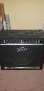 1996 Fender Stratocaster / Peavey Amp