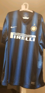 Inter Milan (Internazionale) Soccer Jersey XXL USED