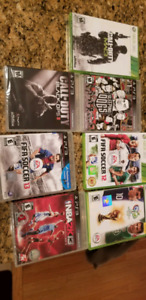 Xbox 360 and ps3 games.  $1