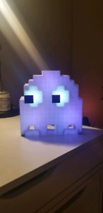 PacMan Ghost Color Changing Lamp