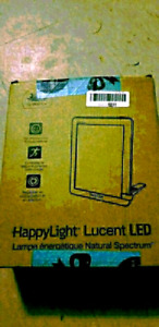 Verilux HappyLight Lucent LED Bright White Light Therapy Lamp