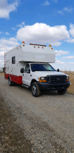 2000 Ford F550 Super Duty XL service truck