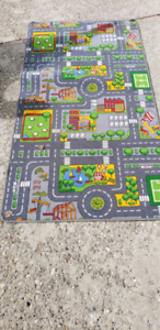 Train table Lego table  picnic table and play carpet