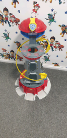 Mighty pups paw patrol tower
