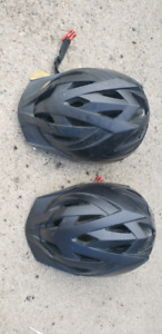 Two CCM Bicycle Helmets