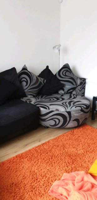 low priced f3ced 42953 Dfs chaise lounge sofa , love chair and footstool | in Hull, East Yorkshire  | Gumtree