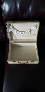 Wedding decor card box, signs, guestbook