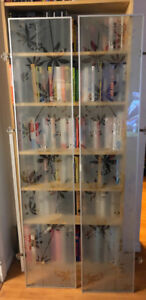 Ikea - Frosted Glass Doors for a Billy Bookcase