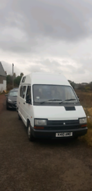 Renault trafic campervan project