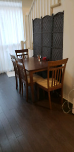 Moving sale - 5 piece Dining set for sale - $90