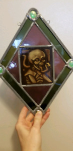 Goth Stained Glass Panels